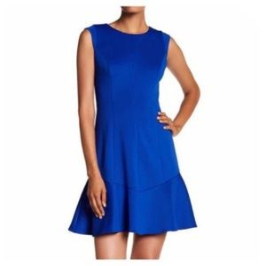 NEW Vince Camuto Cobalt Blue Laguna Dress